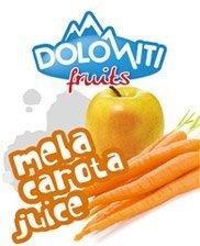 Succo di frutta alla mela e carota