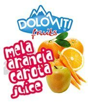Succo di frutta alla mela arancia carota