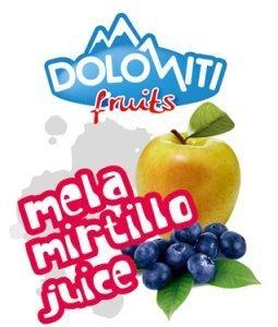 Succo di frutta alla mela e mirtillo